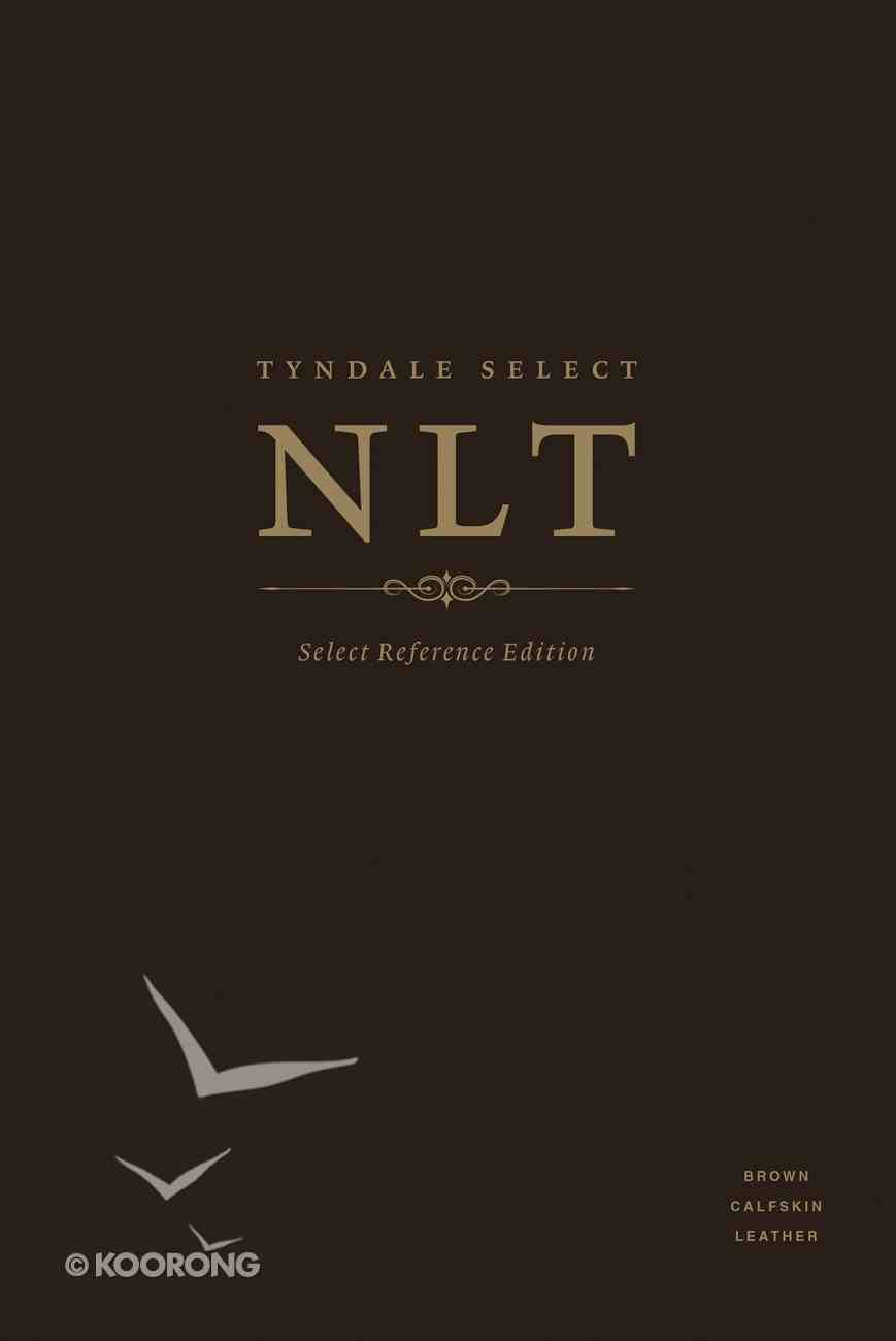 NLT Select Reference Edition Indexed Brown (Black Letter Edition) Genuine Leather