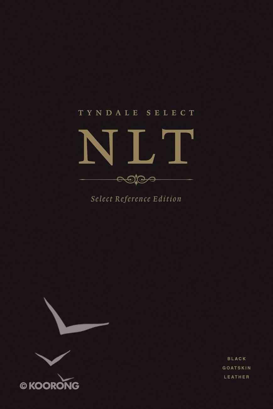 NLT Tyndale Select Reference Edition Black (Black Letter Edition) Genuine Leather