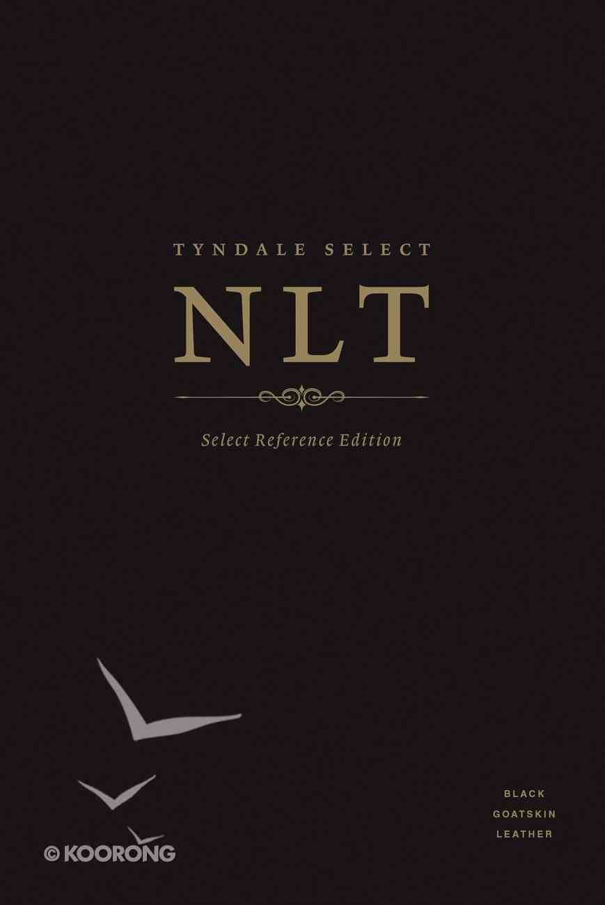 NLT Tyndale Select Reference Edition Indexed Black (Black Letter Edition) Genuine Leather