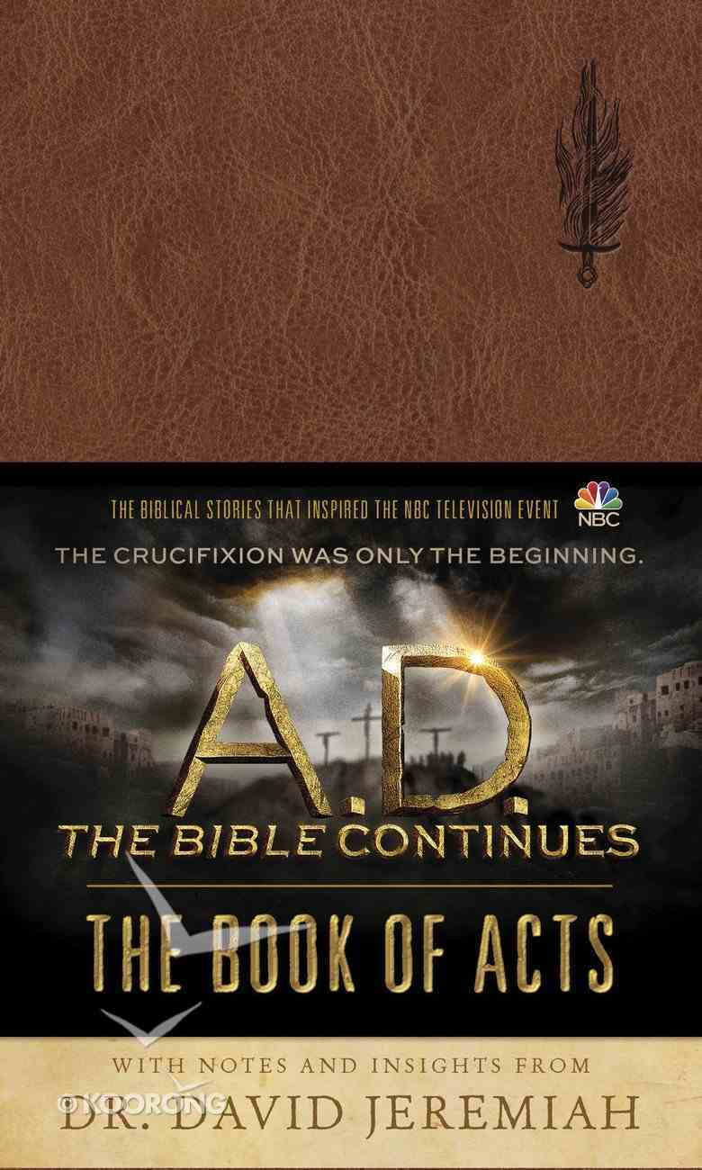 A.D. the Bible Continues: The Book of Acts Imitation Leather