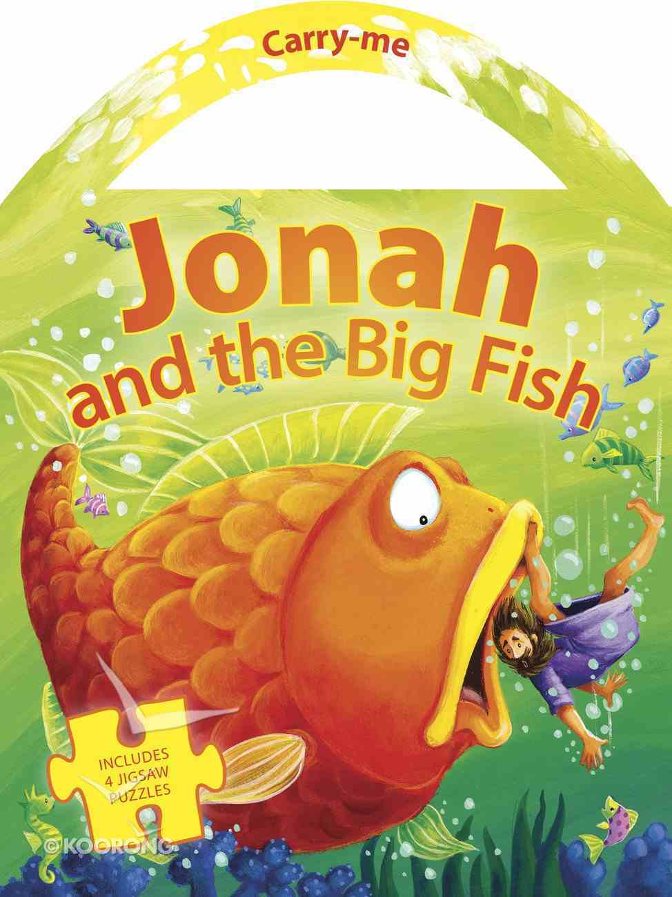 Carry Me Puzzle Book: Jonah and the Big Fish Board Book