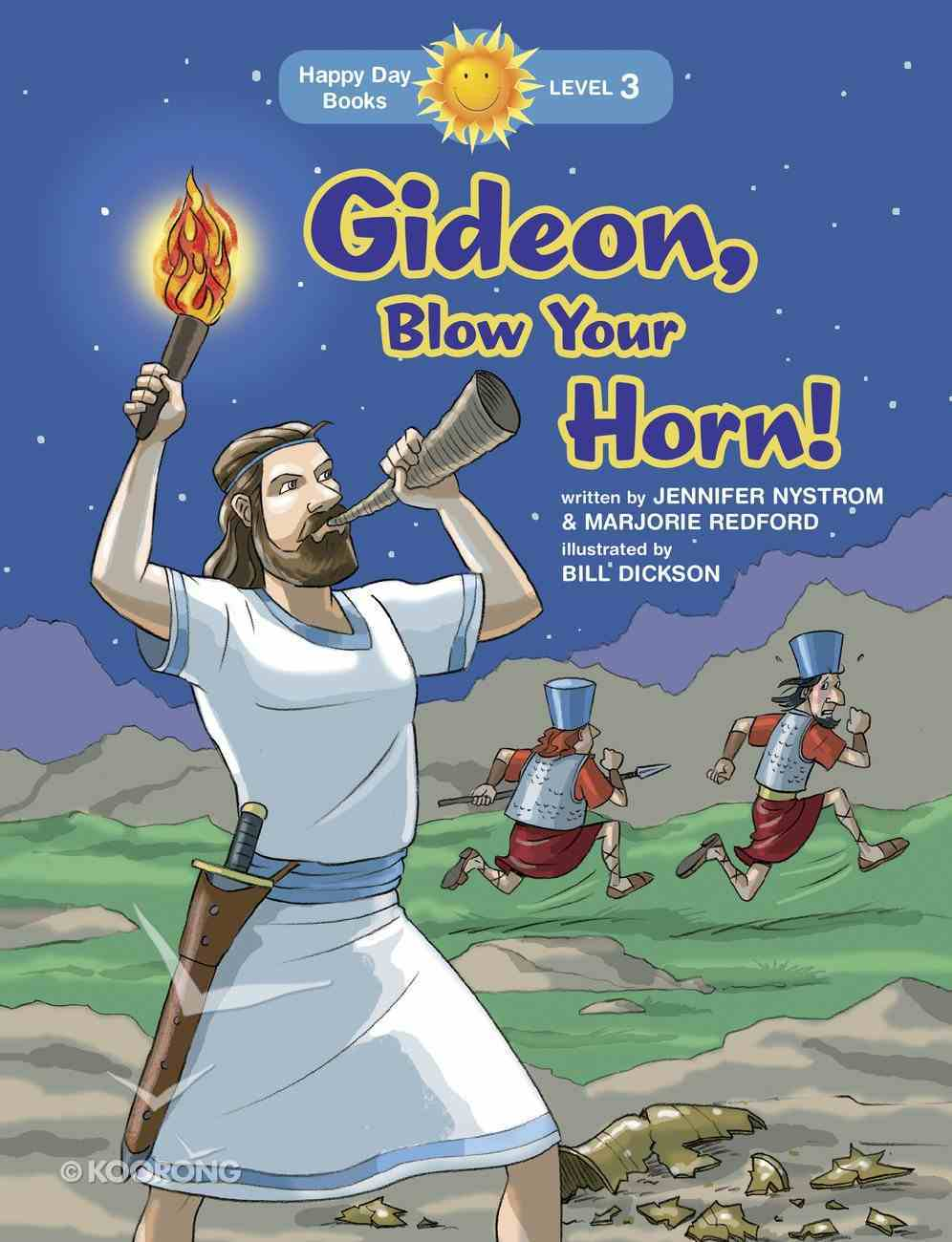 Gideon, Blow Your Horn! (Happy Day Level 3 Independent Readers Series) Paperback