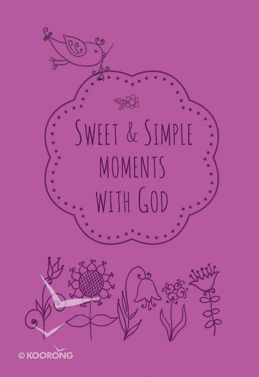 Sweet & Simple Moments With God Imitation Leather