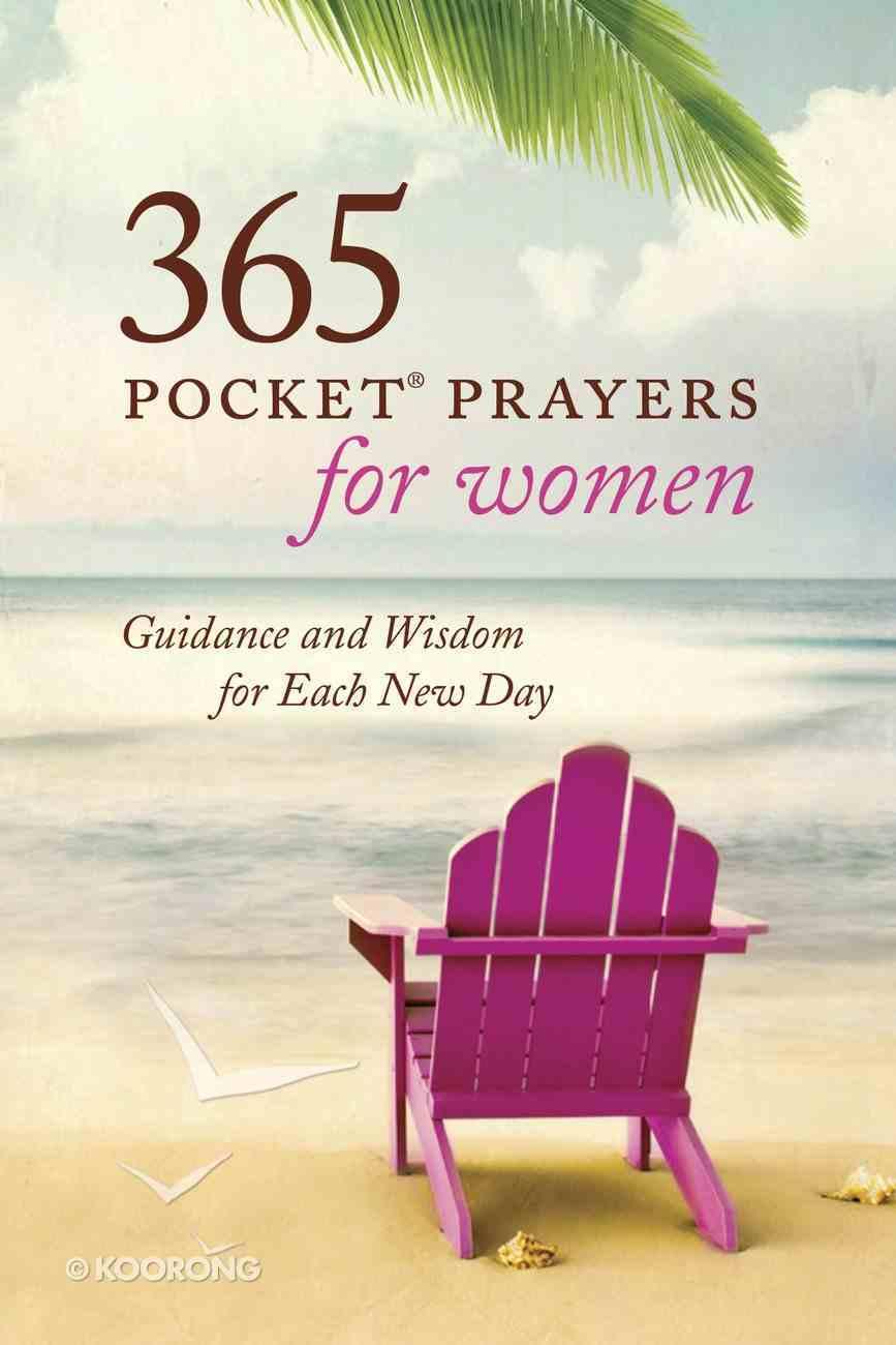 365 Pocket Prayers For Women Paperback