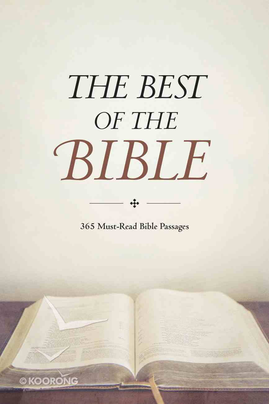 The Best of the Bible Paperback