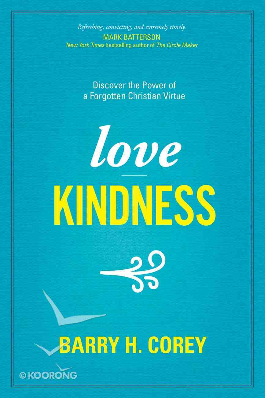 Love Kindness Paperback