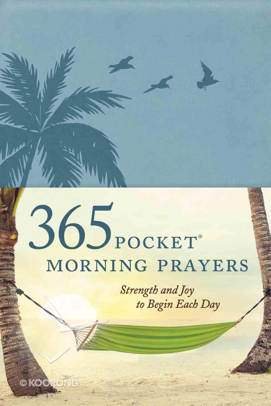 365 Pocket Morning Prayers Imitation Leather
