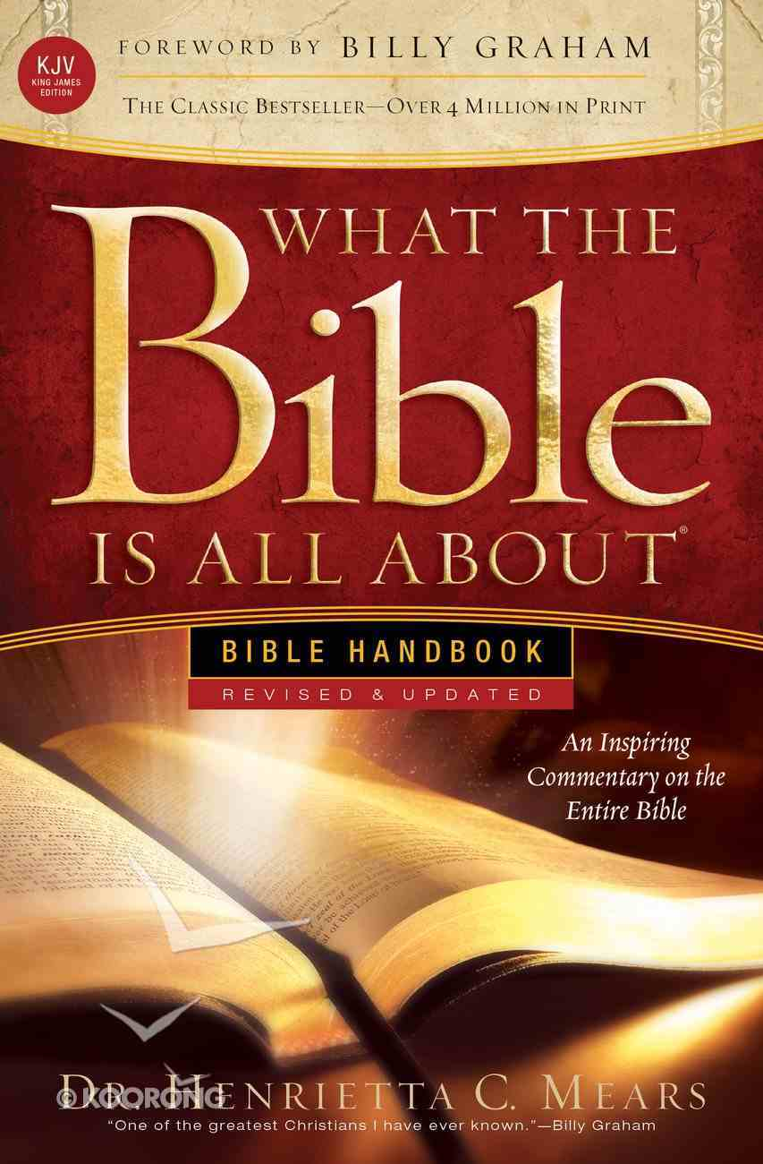 What the Bible is All About KJV Paperback