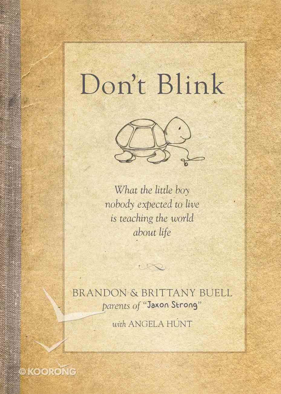 Don't Blink Hardback