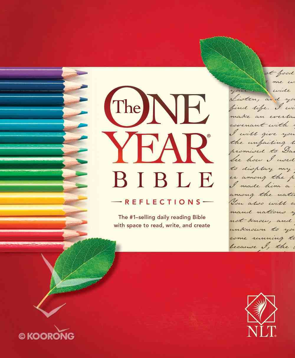 NLT One Year Bible Reflections Edition (Black Letter Edition) Paperback