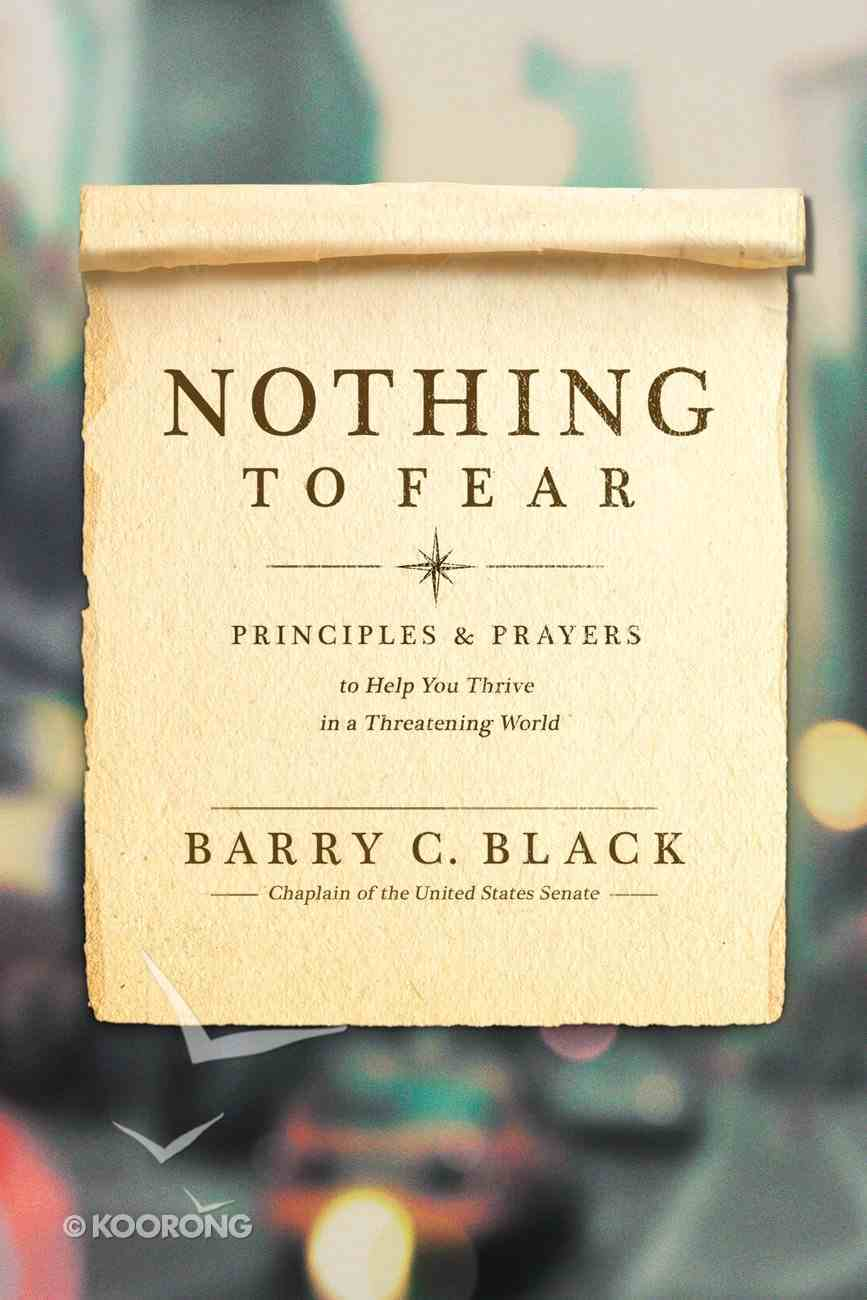 Nothing to Fear Paperback