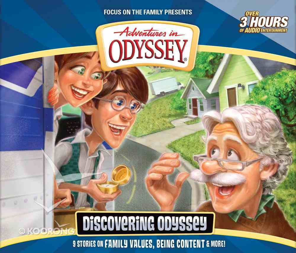 Discovering Odyssey - Celebrating 20 Years (Adventures In Odyssey Audio Series) CD