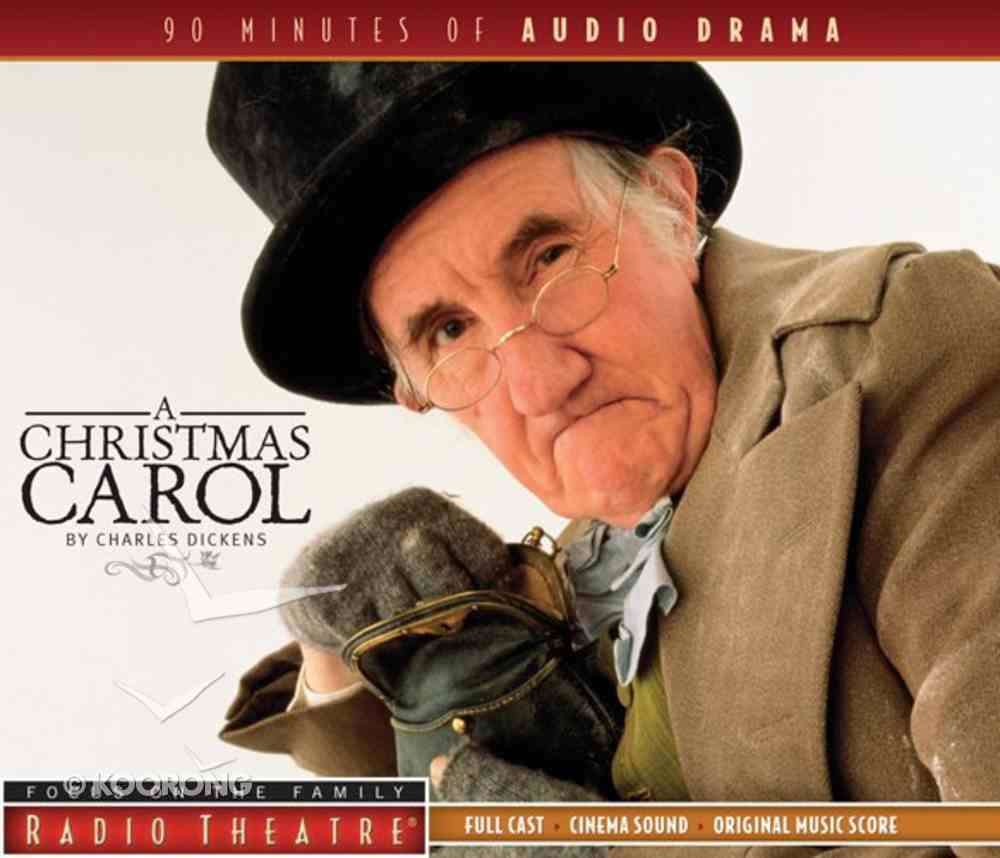 Radio Theatre: Dickens' a Christmas Carol CD