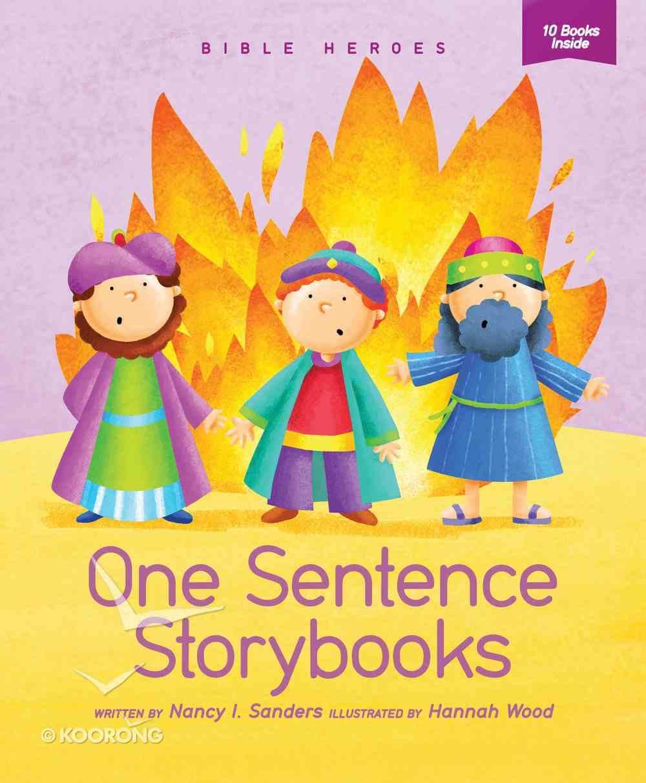 Bible Heroes (One Sentence Storybooks Series) Paperback