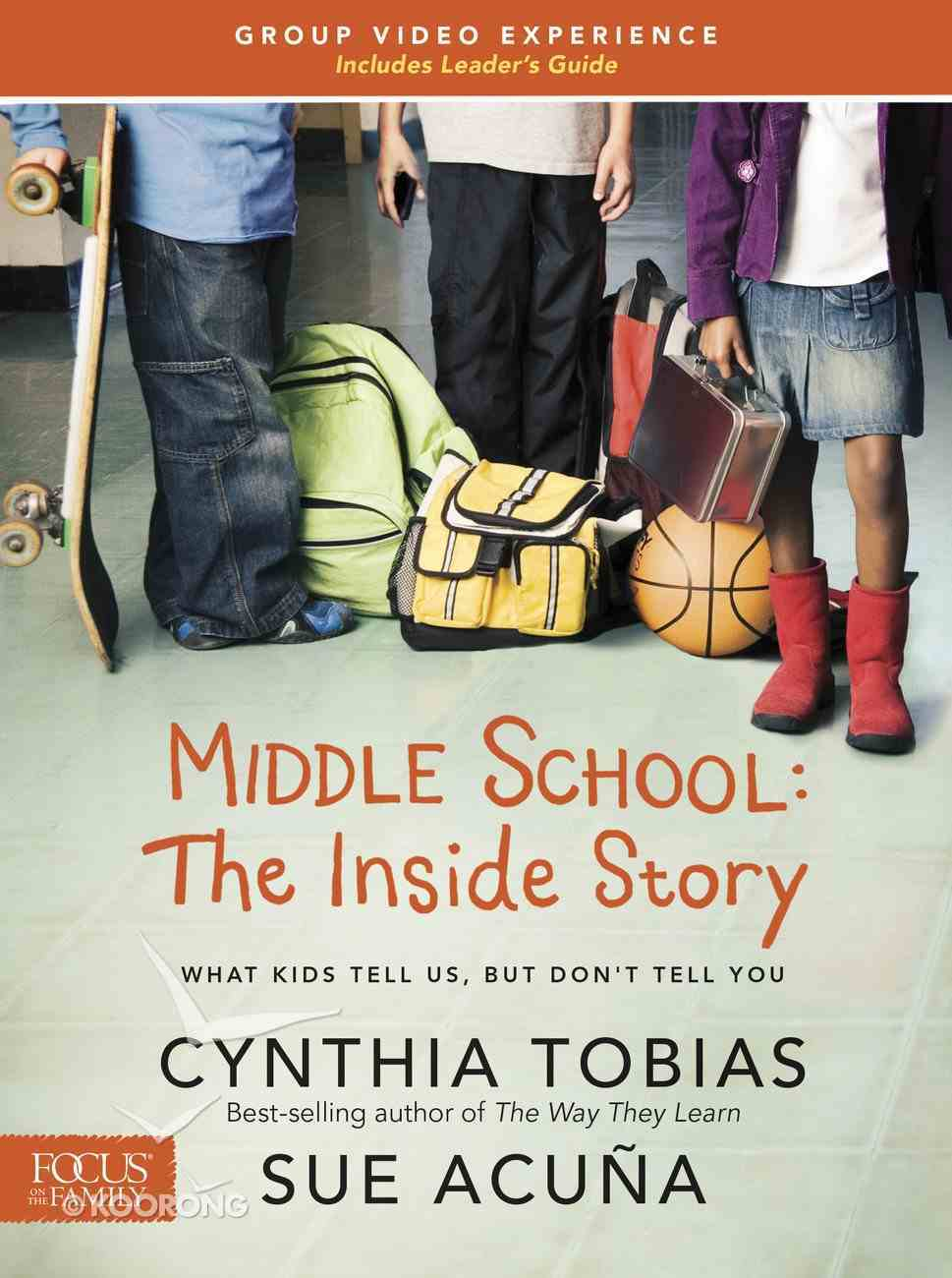 Middle School: The Inside Story Video Experience With Leader's Guide + DVD DVD