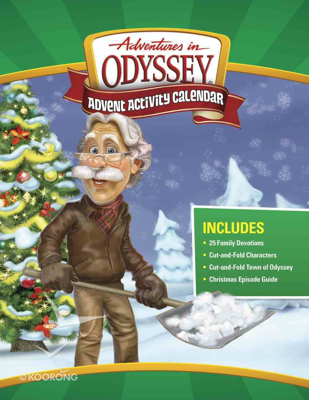 Aio: Adventures in Odyssey Advent Activity Calendar (Adventures In Odyssey Imagination Station (Aio) Series) Paperback