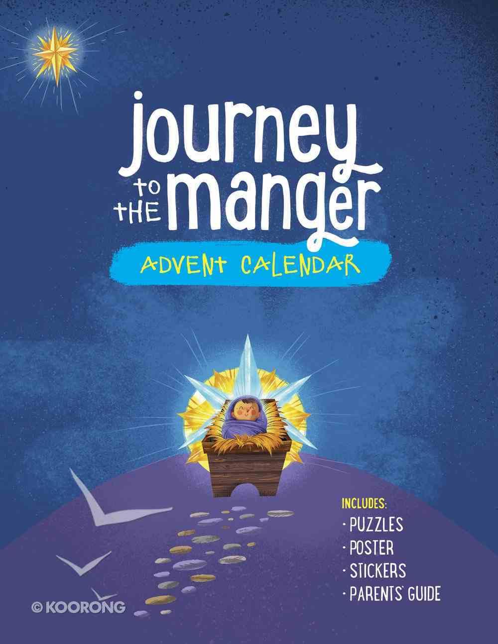 Journey to the Manger Advent Calendar Paperback