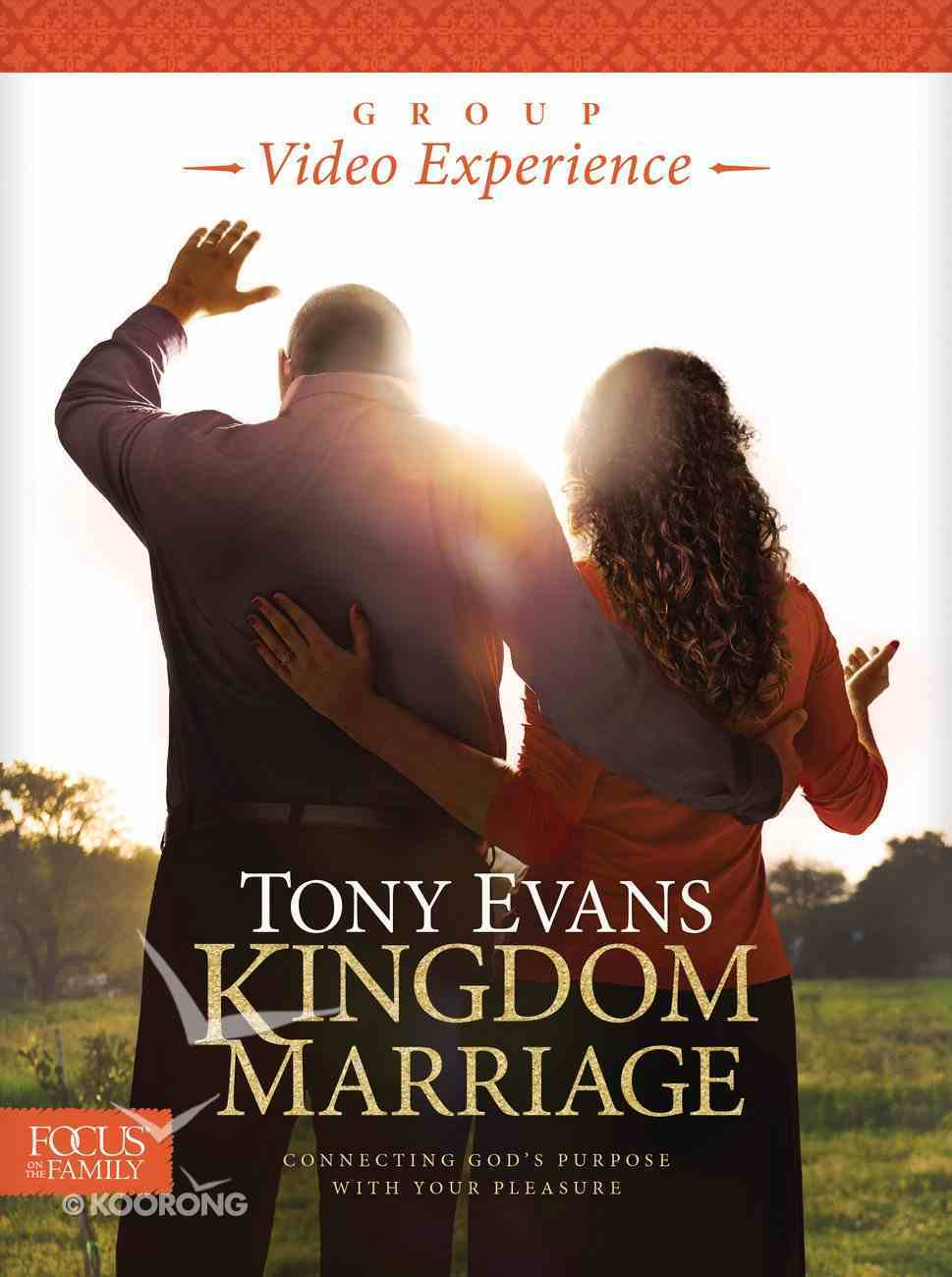 Kingdom Marriage (Group Video Experience, Leader's Guide Included On Dvd, Participant Study) Pack