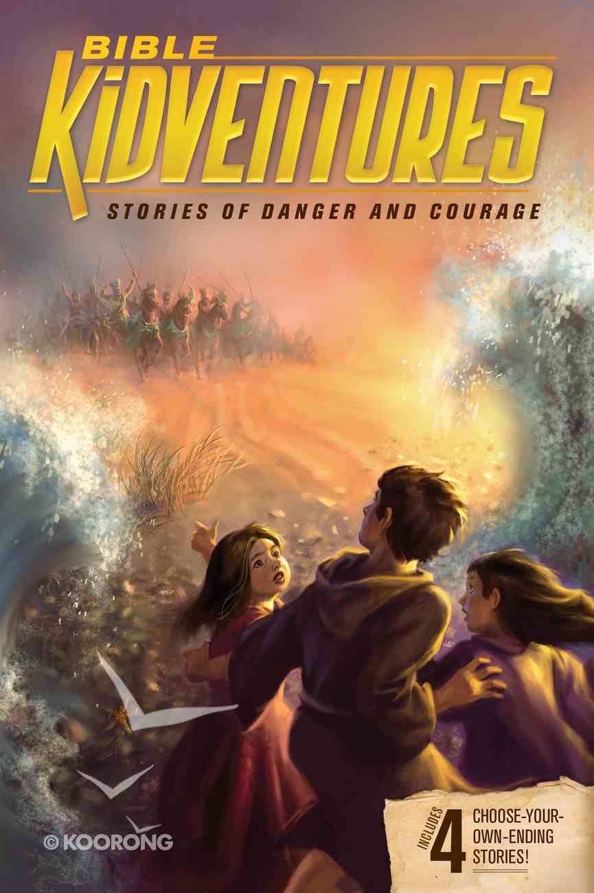 Stories of Danger and Courage (Bible Kidventures Series) Paperback