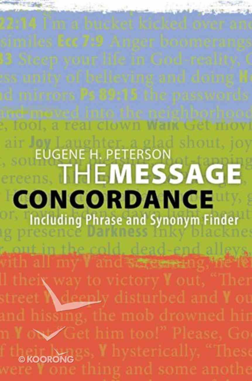 Message Concordance Paperback