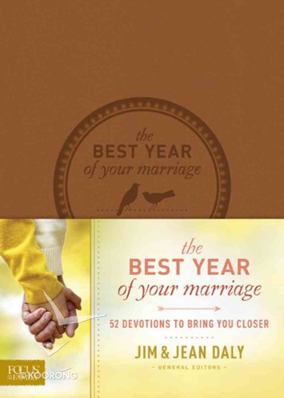 The Best Year of Your Marriage Paperback