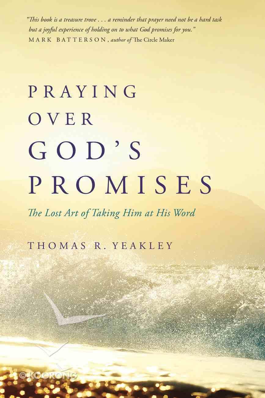 Praying Over God's Promises Paperback