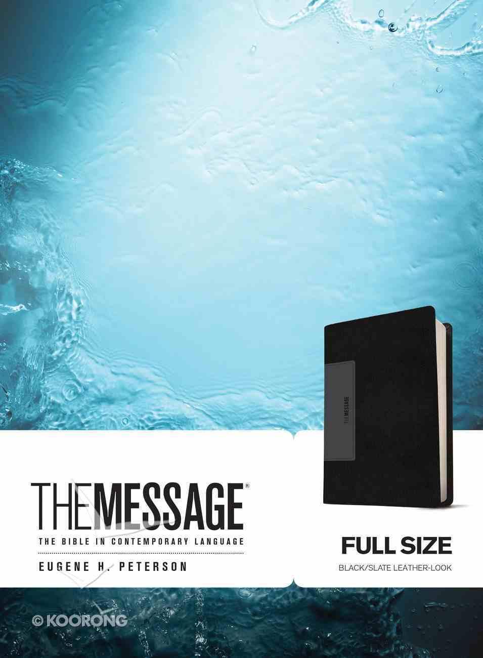 Message Black Slate (Black Letter Edition) Imitation Leather