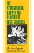 Strengthening Growth And Planting Churches image