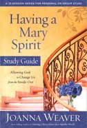 Having A Mary Spirit (Study Guide) image
