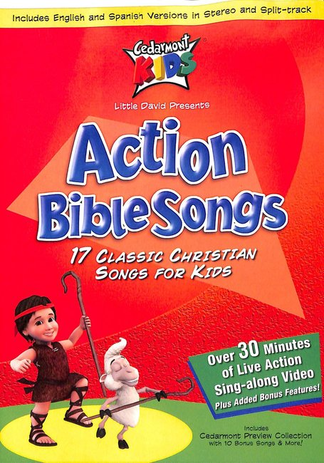 Product: Dvd Kids Classics: Action Bible Songs Image