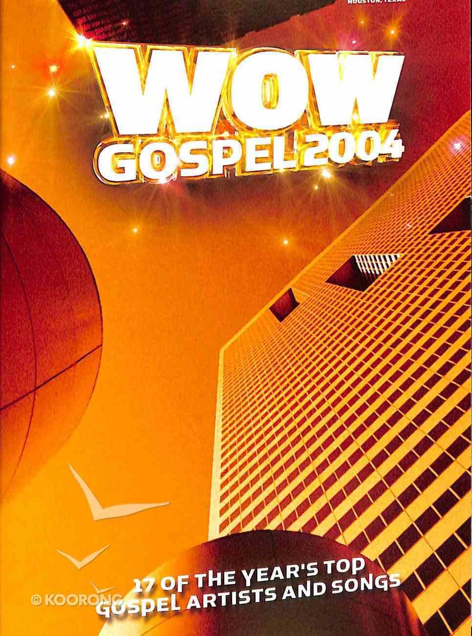 Wow Gospel 2004 DVD