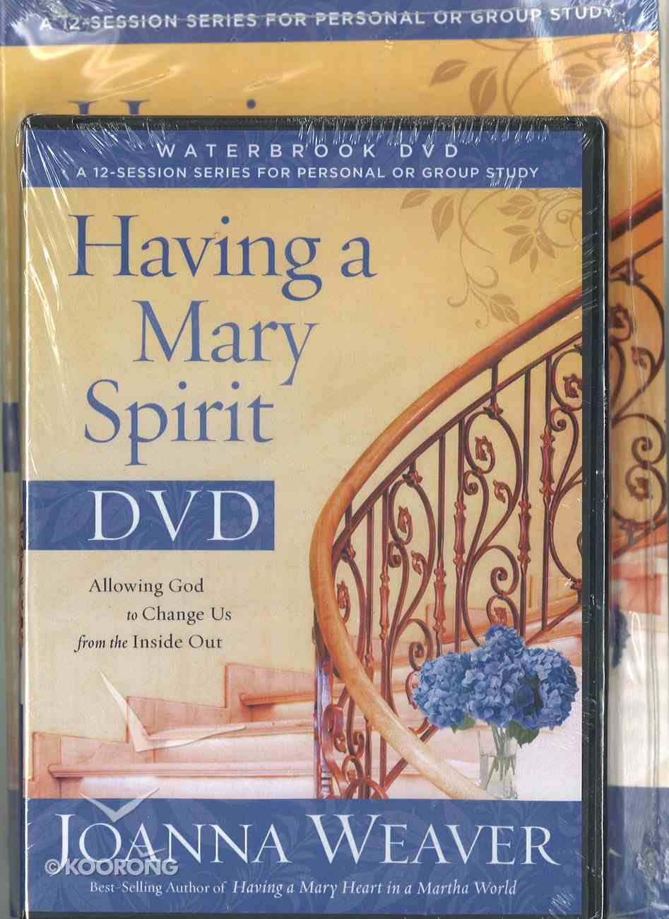 Having a Mary Spirit (Dvd Study Pack) Pack