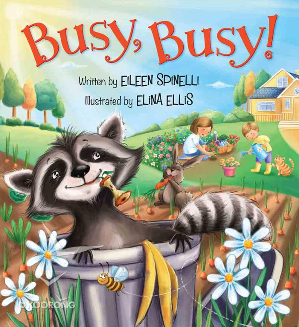 Busy, Busy! Board Book