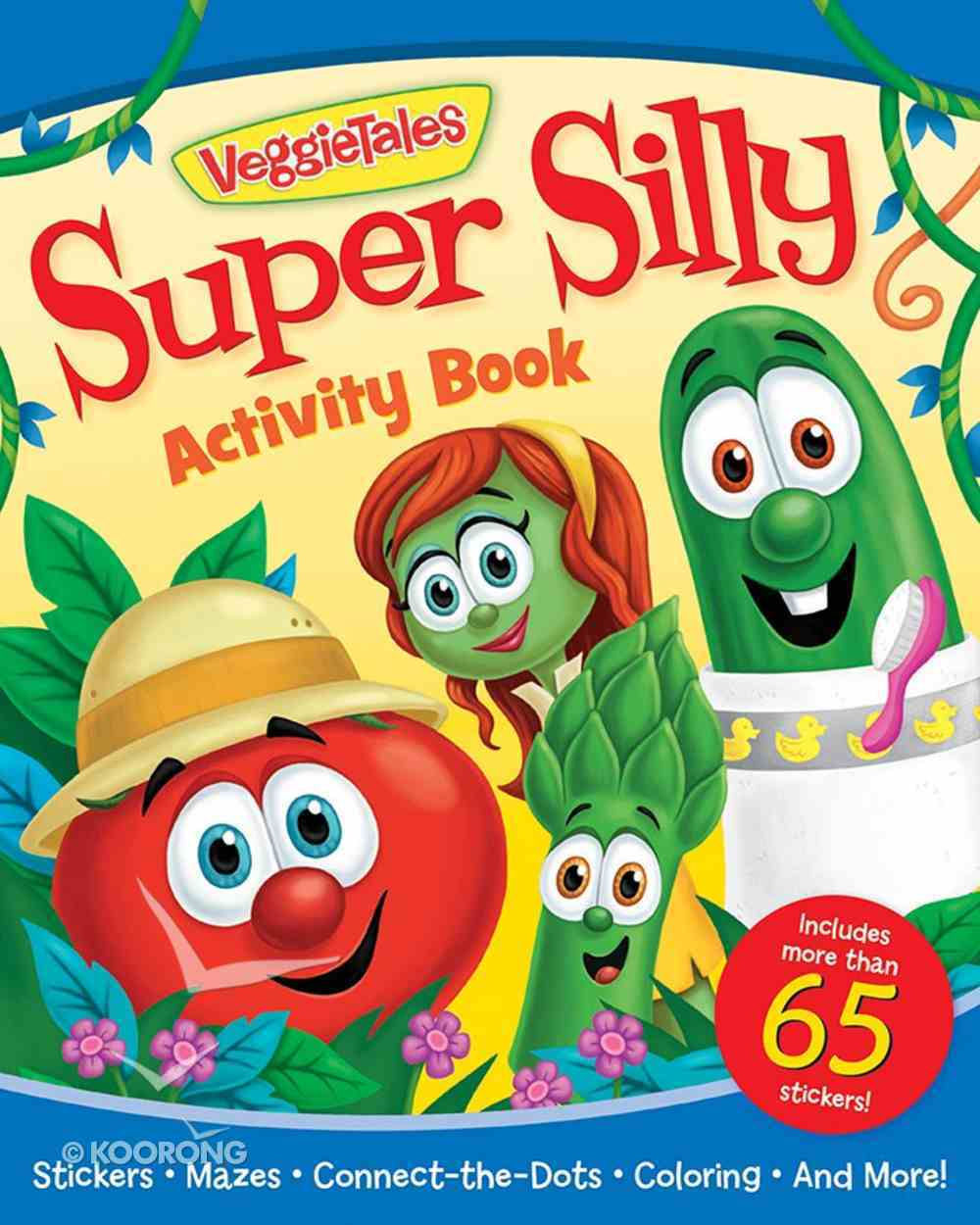Veggie Tales Super Silly Activity Book Paperback