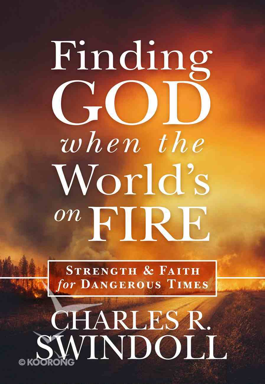 Finding God When the World's on Fire Hardback
