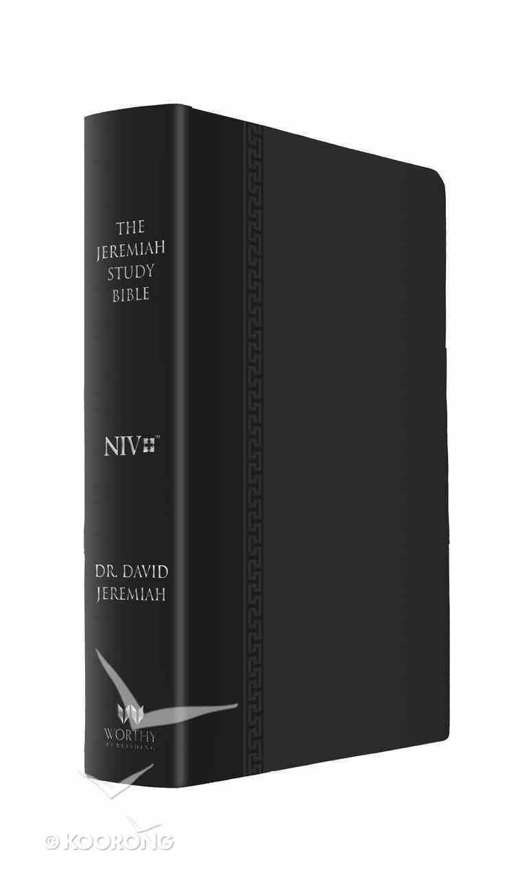 NIV the Jeremiah Study Bible Black Premium Imitation Leather