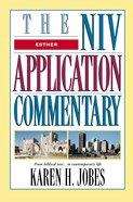 Esther (Niv Application Commentary Series) Hardback