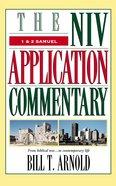 1 & 2 Samuel (Niv Application Commentary Series) Hardback