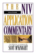 Galatians (Niv Application Commentary Series) Hardback