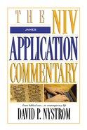 James (Niv Application Commentary Series) Hardback