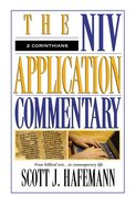 2 Corinthians (Niv Application Commentary Series) Hardback