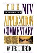 1 & 2 Timothy (Niv Application Commentary Series) Hardback