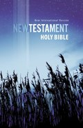 NIV Outreach New Testament Blue Wheat (Black Letter Edition) Paperback
