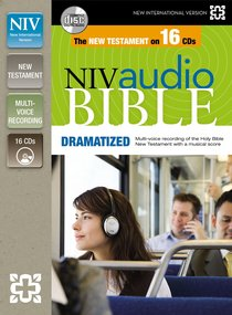 Album Image for NIV Audio New Testament Dramatized (16 Audio Cds Undabridged 19 Hrs) - DISC 1