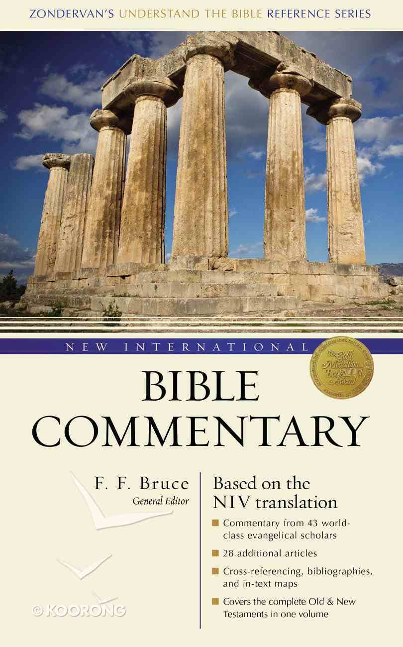 New International Bible Commentary (NIV) (Zondervan's Understand The Bible Reference Series) Hardback