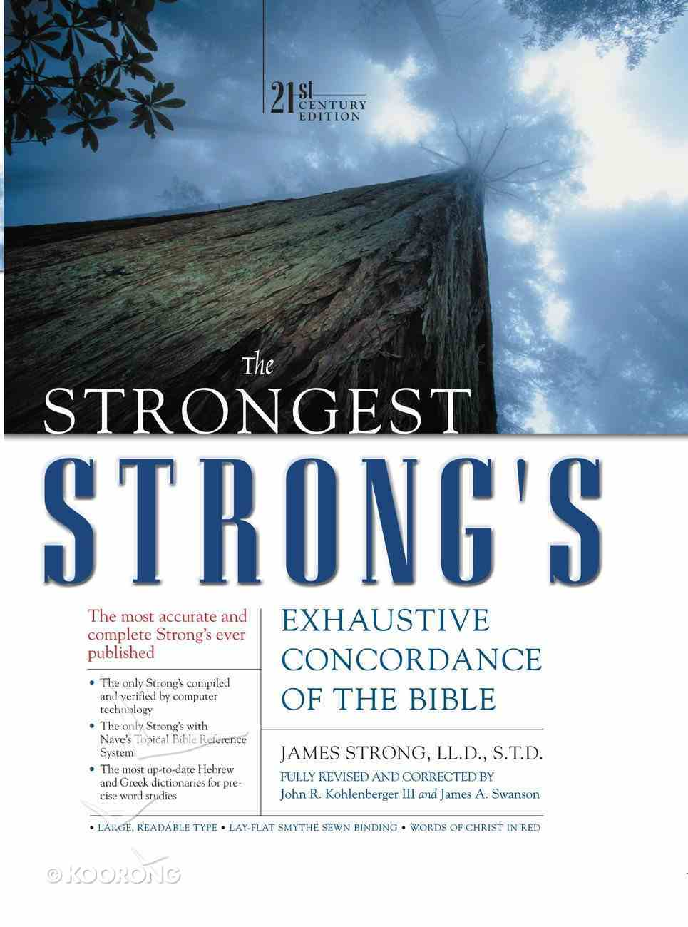 The Strongest Strong's (21st Century Edition) Hardback