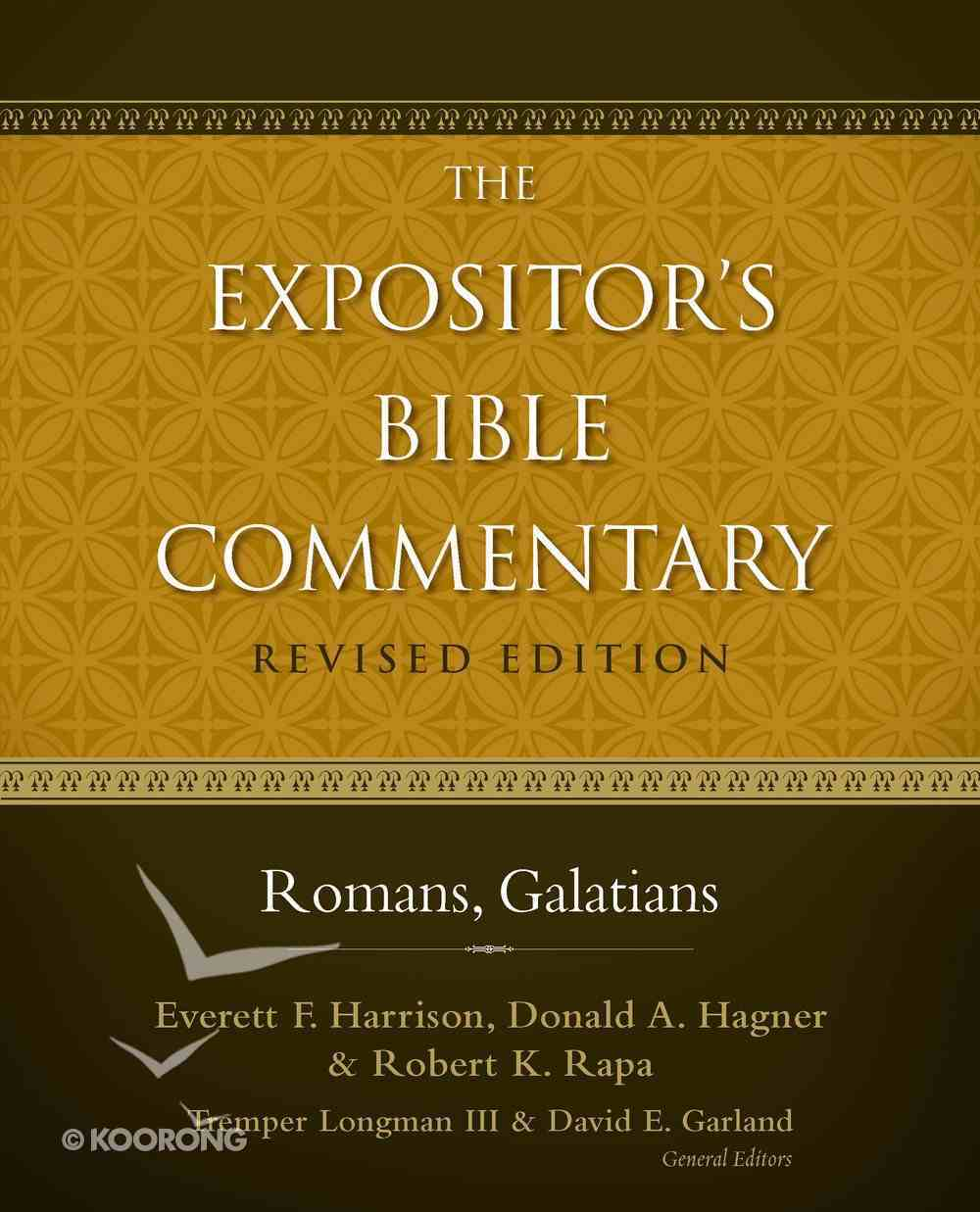 Romans-Galatians (Also Incl. 1 & 2 Corinthians) (#11 in Expositor's Bible Commentary Revised Series) Hardback