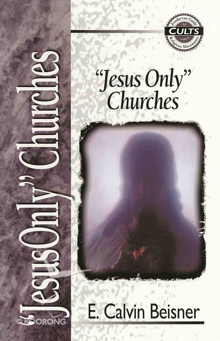 """""""Jesus Only"""" Churches (Zondervan Guide To Cults & Religious Movements Series) Paperback"""