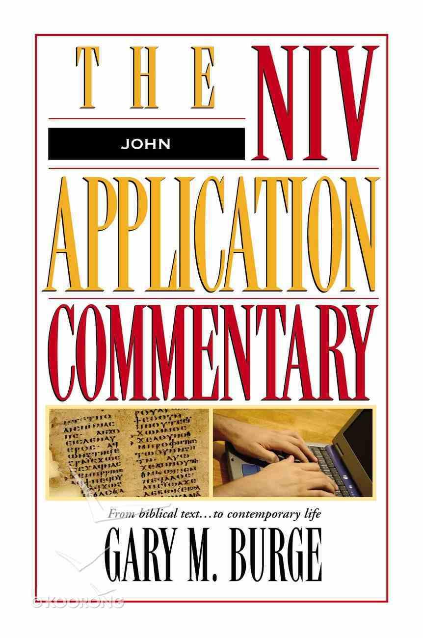 John (Niv Application Commentary Series) Hardback