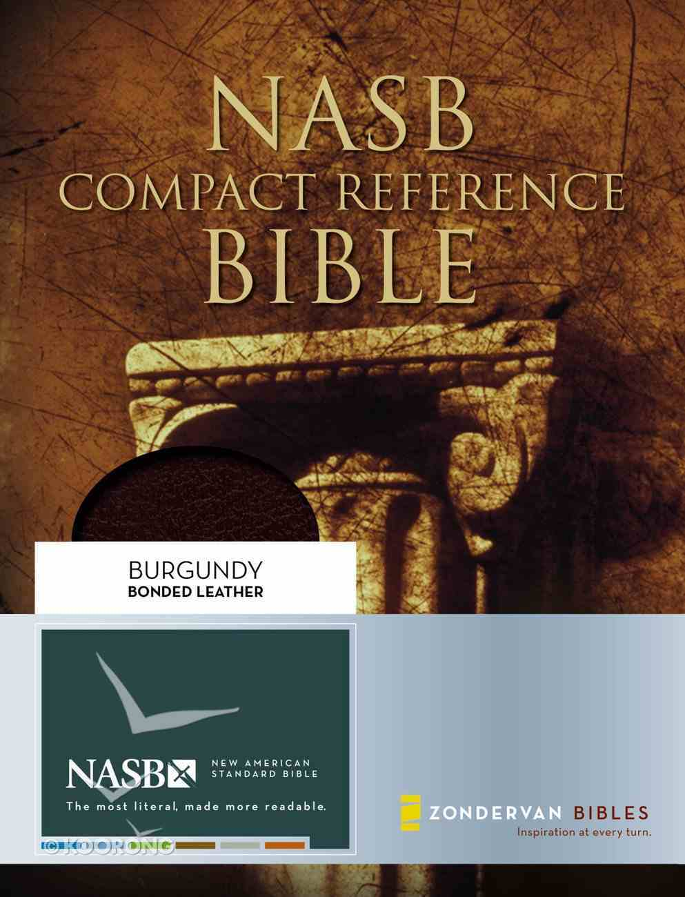 NASB Updated Compact Reference Burgundy (Red Letter Edition) Bonded Leather